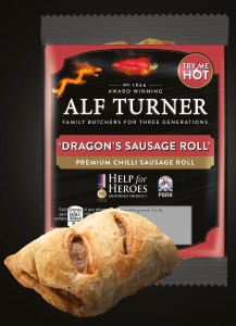 ALF TURNER DRAGONS SAUSAGE ROLL